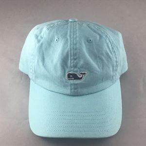 ⭐️ HP ⭐️ Vineyard Vines Aqua Navy Whale Cap Hat